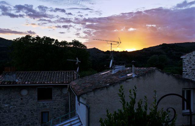 Villeneuve Loubet sunset