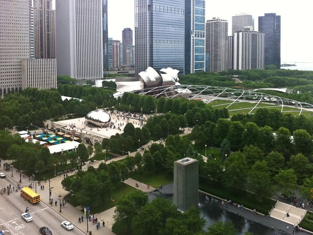 Mill Park from UC Gallery