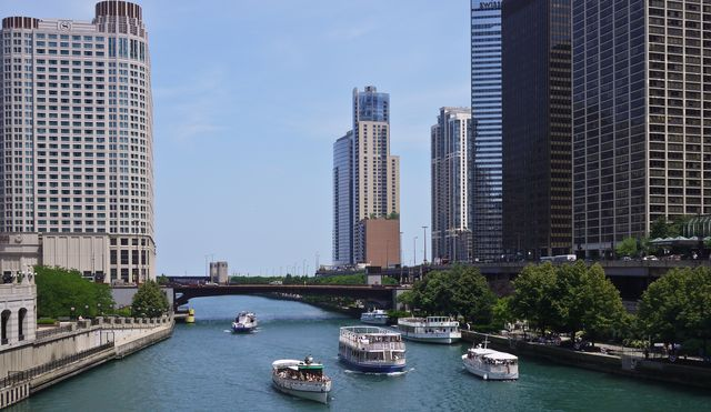 Chicago River June 30_