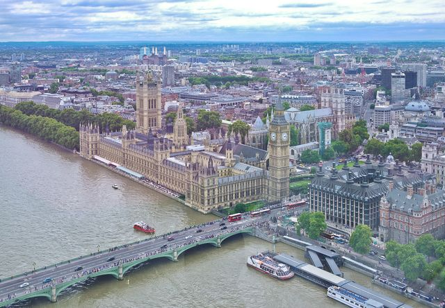 Westminster from Eye
