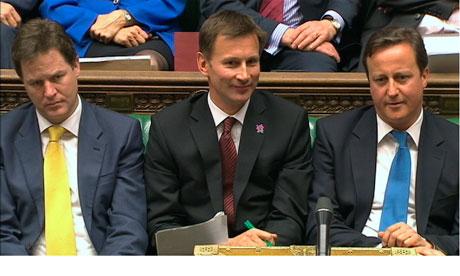 Clegg Hunt Cameron