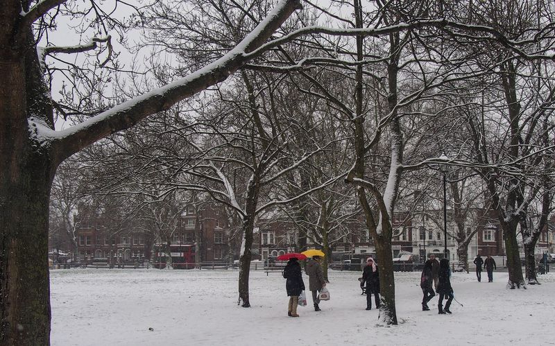 Snow Parsons Green