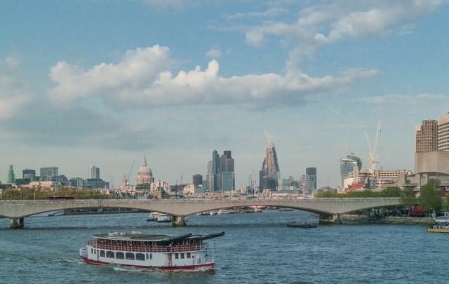 Thames from Hungerford Bridge