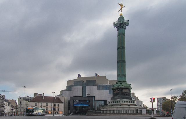 Clouds over the Bastille