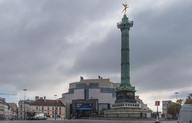 Clouds over the Bastille
