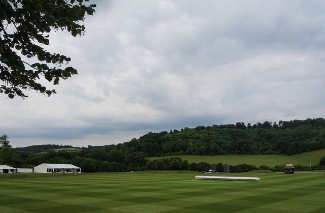 Garsington cricket field
