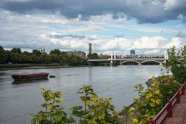 Battersea embankment