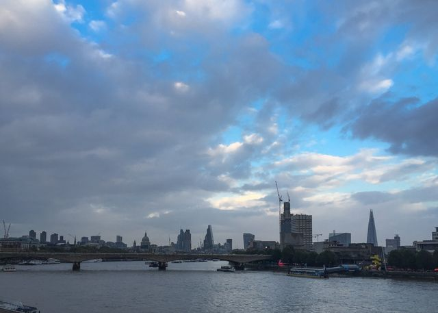 From Hungerford Bridge October 9