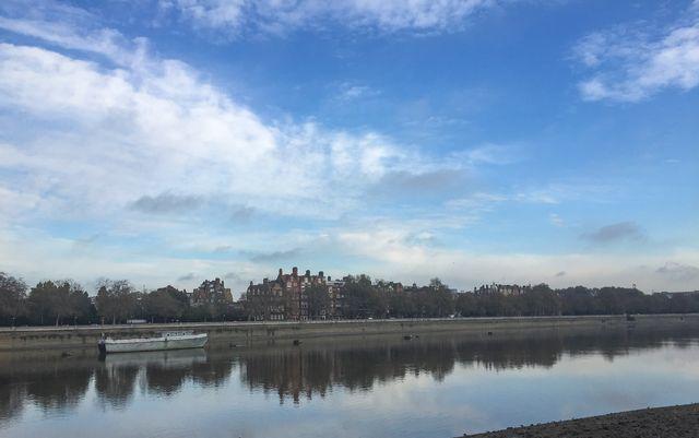Thames from Battersea Park 9 nov-2