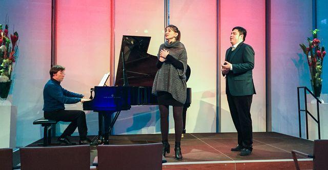 Neue Stimmen Winners concert