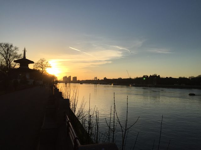 Thames evening March 7