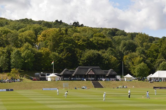 Wormsley cricket