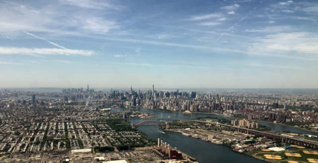 Manhattan from air