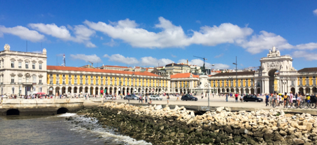 Lisbon waterside