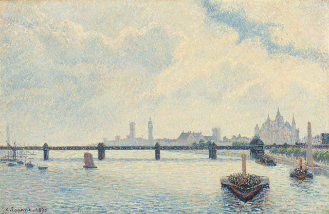 Charing_Cross_Bridge _London_(Camille_Pissarro)
