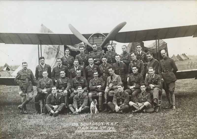 Squadron 139 11:11:1918